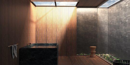 Terrasse avec jacuzzi 4