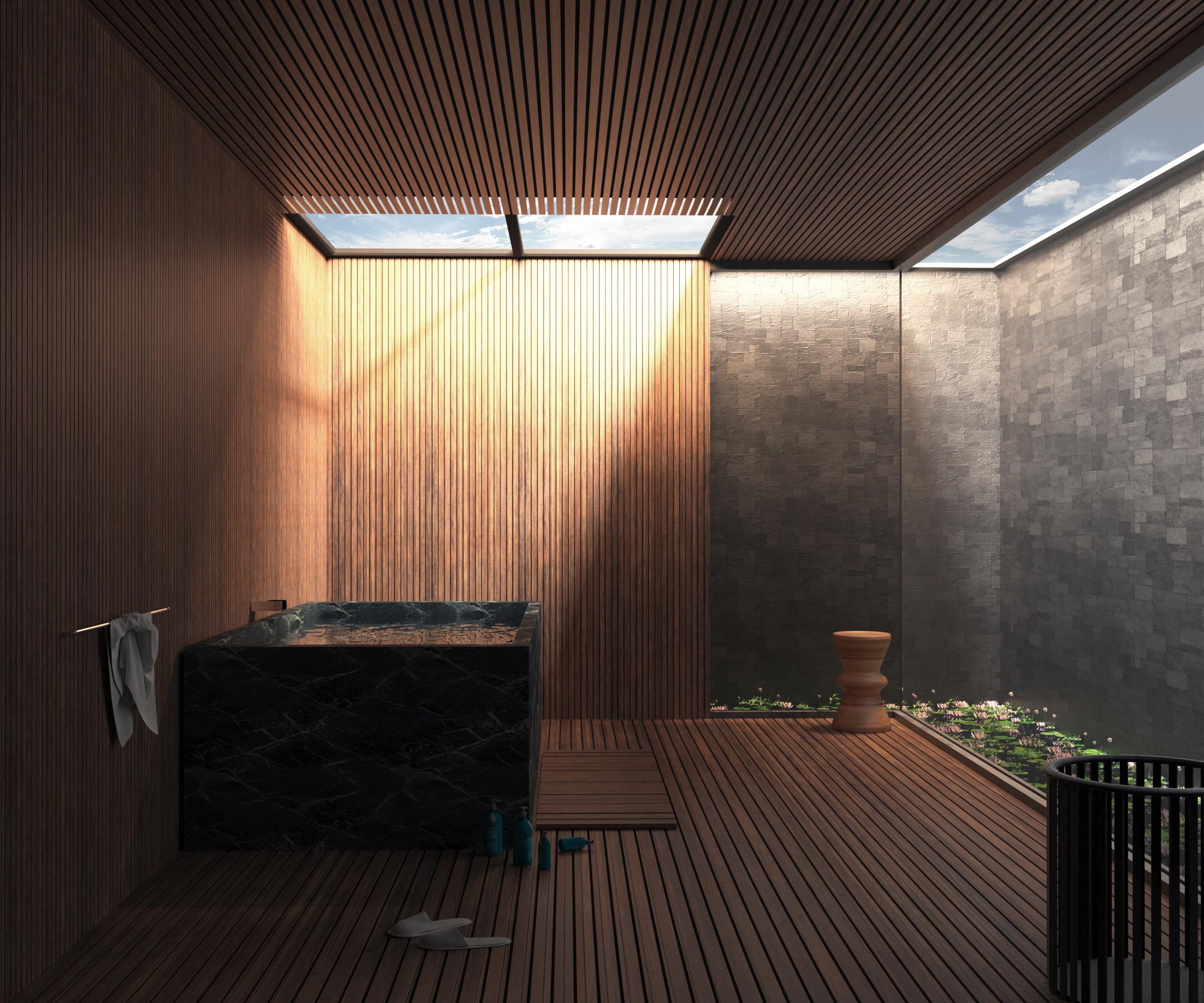 Terrasse avec jacuzzi 1