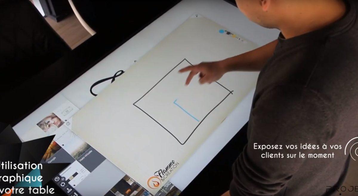 Les éléments graphiques de votre table tactile 2
