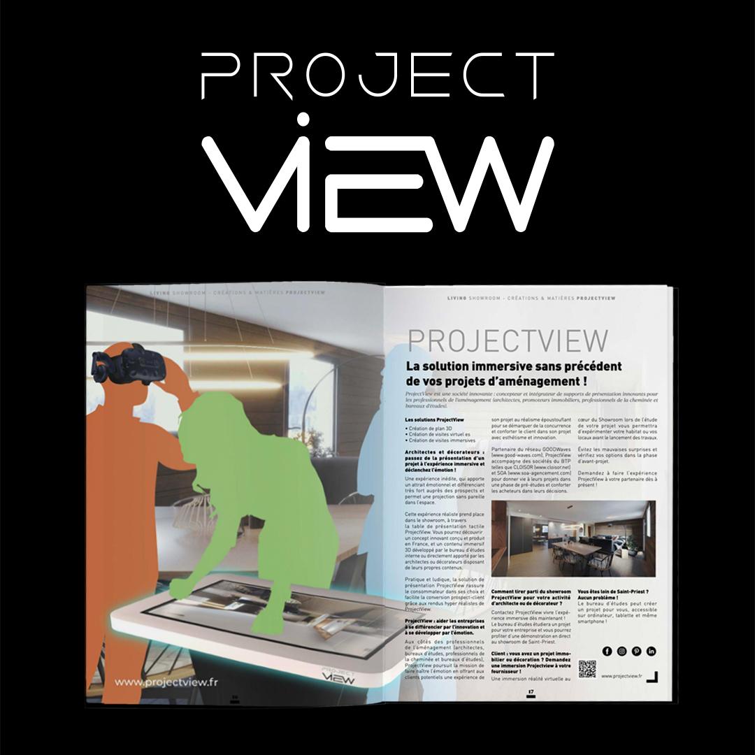 Retrouvez ProjectView dans l'édition printemps-été du Showroom Déco 3